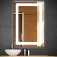 Зеркало в ванную с подсветкой Аделина 70х90 см
